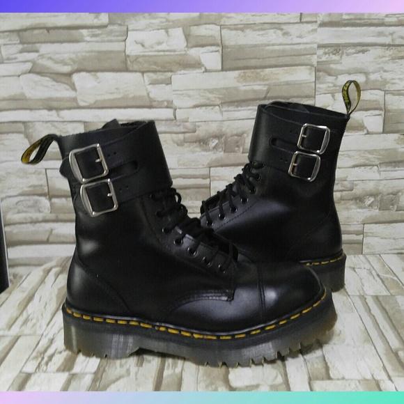 100% autentico vendita outlet godere del prezzo di sconto Dr. Martens Shoes   Dr Doc Marten Steel Toe Buckle Boots 7712 ...